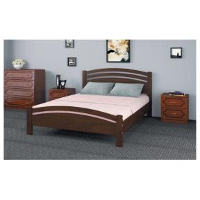 """Кровать """"Камелия-3"""" дуб коньяк 140*200см"""