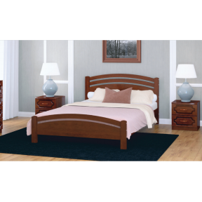 """Кровать """"Камелия-3"""" орех 140*200см"""
