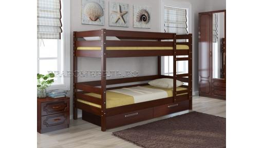"""Кровать """"Джуниор"""" орех"""