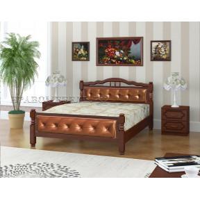 """Кровать """"Карина-11"""" орех 120*200см"""