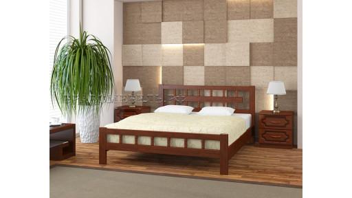 """Кровать """"Натали-5"""" орех 160*200см"""