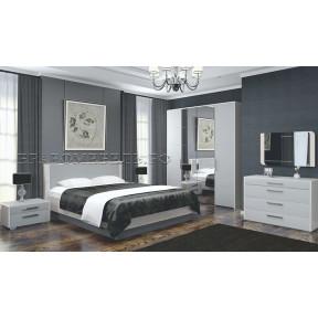 Модульная спальня Вива мокко