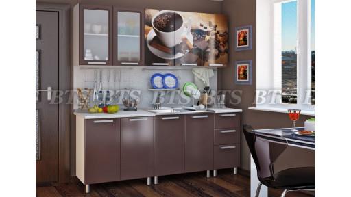 Кухня Люкс Шоколад 2,0м БТС