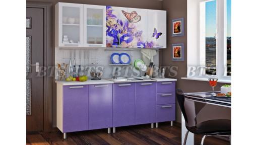 Кухня Люкс Ирис 2,0м БТС
