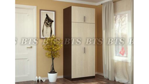 Шкаф 2-створчатый с перегородкой БТС