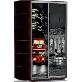 Шкаф-купе Дуо Фото Лондон 120_60_220