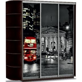 Шкаф-купе Трио Фото Лондон 180_60_220