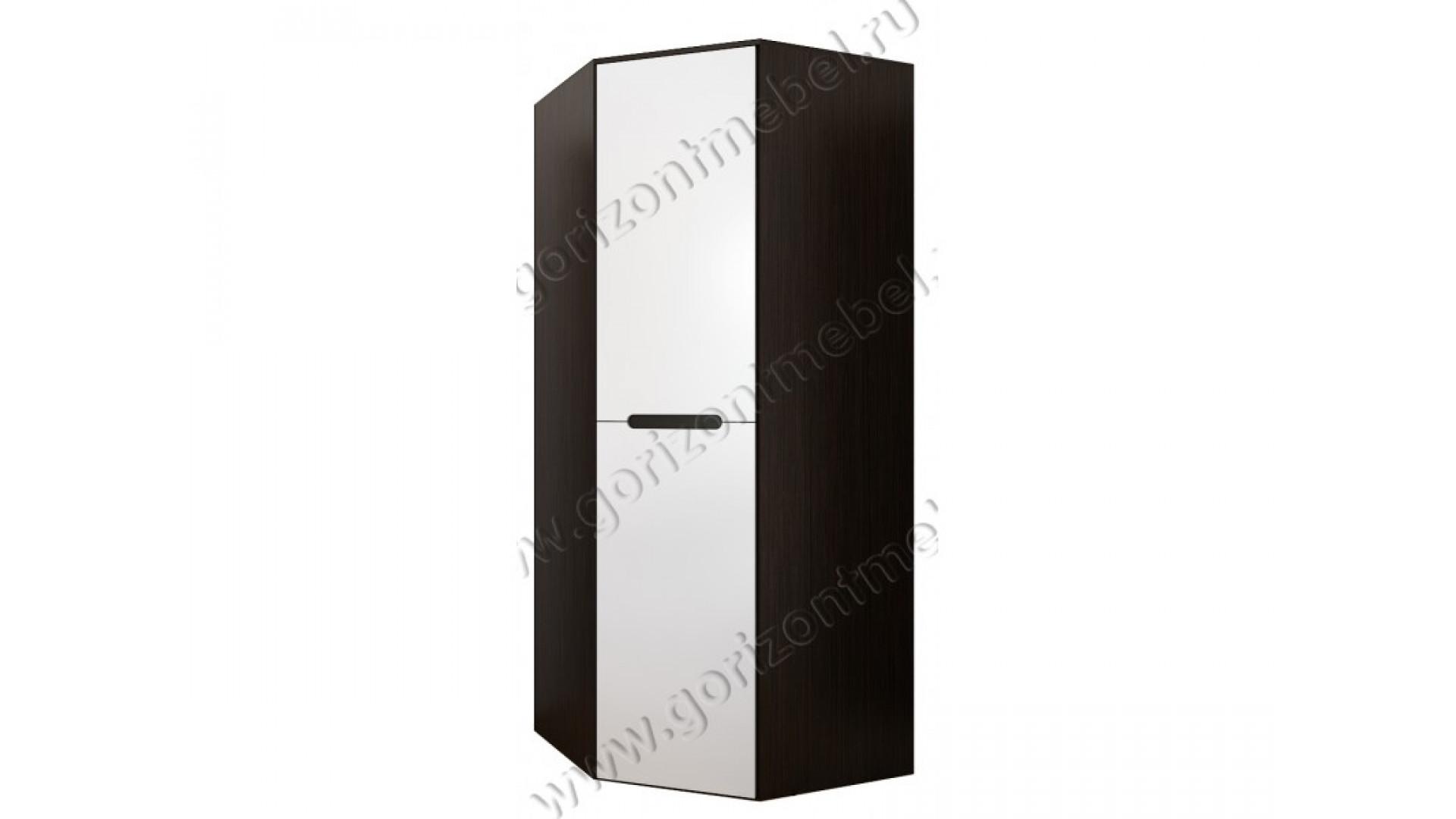 Шкаф угловой вегас венге/белый глянец - интернет-магазин нед.