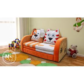Диван для детской «Кот и Пёс» МСтиль
